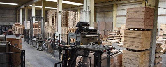 Робота в Празі. Paletový servis s.r.o. - výkup a výroba palet. Partner WORKINTENSE